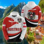 Austria Proud Version All Over Print Shirts