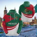 Mexico Proud Version All Over Print Shirts