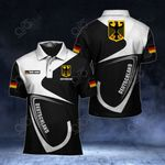 Customize Germany Coat Of Arms & Flag All Over Print Polo Shirt