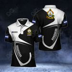 Customize Honduras Coat Of Arms & Flag All Over Print Polo Shirt