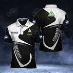 Customize Nicaragua Coat Of Arms & Flag All Over Print Polo Shirt