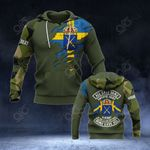 Customize Swedish Army - Torn 3D All Over Print Hoodies