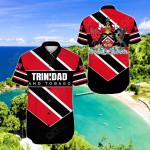 Trinidad and Tobago - Pro Energy Short Sleeve Linen Button Down Shirt