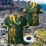 South African Shaka Zulu Green All Over Print Polo Shirt
