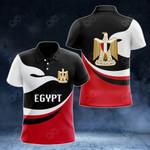Egypt Proud Version All Over Print Polo Shirt
