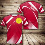 Japan Sport Style All Over Print T-shirt