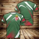 Hungary Sport Style All Over Print T-shirt