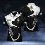 Customize Argentina Coat Of Arms & Flag All Over Print Polo Shirt