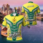 Customize Australia The Rugby Championship - Rugby Australia All Over Print Polo Shirt