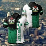 Customize Nigeria Independence Day All Over Print Polo Shirt