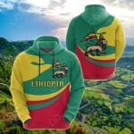 Ethiopia Proud Version All Over Print Shirts