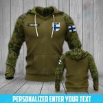 Customize Finland Army All Over Print Hoodies