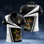 Customize Palestine Proud - New Style All Over Print Polo Shirt