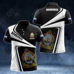 Customize Honduras Proud - New Style All Over Print Polo Shirt
