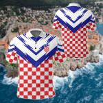 Croatia New Version All Over Print Polo Shirt