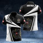 Customize Austria Proud - New Style All Over Print Polo Shirt