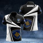 Customize Kosovo Proud - New Style All Over Print Polo Shirt