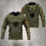 Customize German Army Eagle All Over Print Hoodies