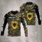 Customize German Army Camo Version All Over Print Hoodies