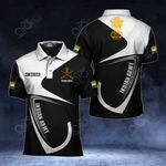 Customize Indian Army Symbol & Flag All Over Print Polo Shirt