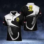 Customize Iraqi Army Symbol & Flag All Over Print Polo Shirt