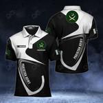Customize Pakistan Army Symbol & Flag All Over Print Polo Shirt