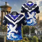 Scotland - Scottish Lion New Release All Over Print Polo Shirt