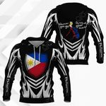 Philippines In Me All Over Print Hoodies