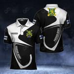 Customize Finnish Army Symbol & Flag All Over Print Polo Shirt