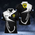 Customize Hellenic Army Symbol & Flag All Over Print Polo Shirt
