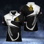 Customize Netherlands Army Symbol & Flag All Over Print Polo Shirt