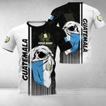 Customize Guatemala Coat Of Arms & Special Skull All Over Print T-shirt