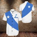 Somalia Special Flag Short Sleeve Linen Button Down Shirt