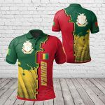 Guinea Independence Day All Over Print Polo Shirt