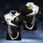 Customize Dannish Army Symbol & Flag All Over Print Polo Shirt