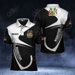 Customize Mauritius Coat Of Arms & Flag All Over Print Polo Shirt