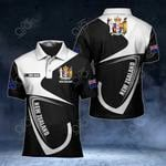 Customize New Zealand Coat Of Arms & Flag All Over Print Polo Shirt