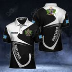Customize Saint Lucia Coat Of Arms & Flag All Over Print Polo Shirt