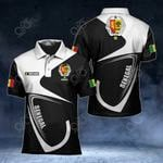 Customize Senegal Coat Of Arms & Flag All Over Print Polo Shirt