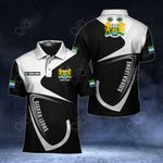 Customize Sierra Leone Coat Of Arms & Flag All Over Print Polo Shirt