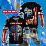 Customize Argentine American All Over Print Hoodies