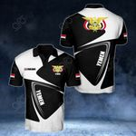 Customize Yemen Coat Of Arms - Flag V2 All Over Print Polo Shirt