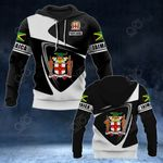 Customize Jamaica Coat Of Arms - Flag V2 All Over Print Hoodies