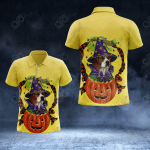 Beagle Halloween All Over Print Polo Shirt