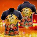 Happy Halloween All Over Print Polo Shirt