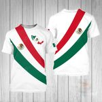 Mexico Simple Style All Over Print T-shirt