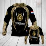 Royal Netherlands Army All Over Print Hoodies