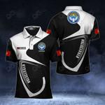Customize Kyrgyzstan Coat Of Arms & Flag All Over Print Polo Shirt