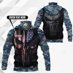 Customize United States Department Of The Navy All Over Print Neck Gaiter Hoodie