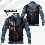 Customize United States Navy All Over Print Neck Gaiter Hoodie